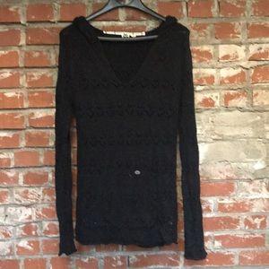 Roxy hooded Knit sweater